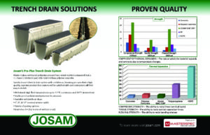 JOSAM_ ProPlus Trench Drain_ SPREAD AD - PLUMBING ENGINEER