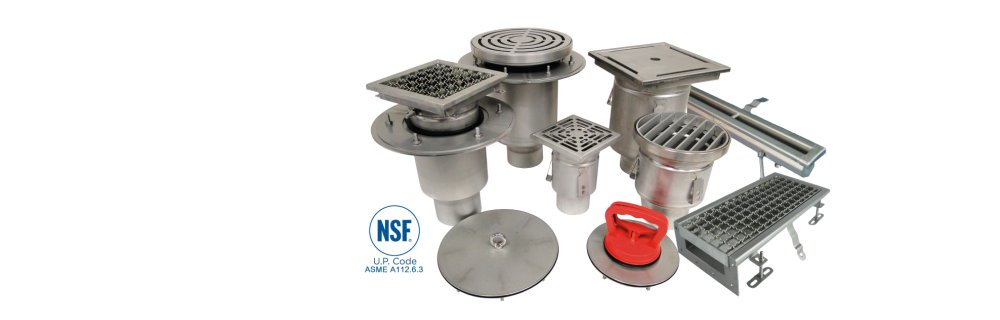 Josam Stainless Steel Drains
