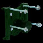 12000 PF U2013 Water Closet Carrier: Standard CHASE SAVER II Trim Pack With  Pylon Feet