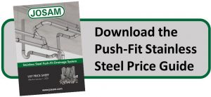 Stainless Steel Push-Fit Price Guide