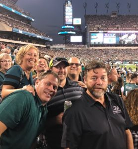 Eagles vs Vikings with Customers from Minnesota