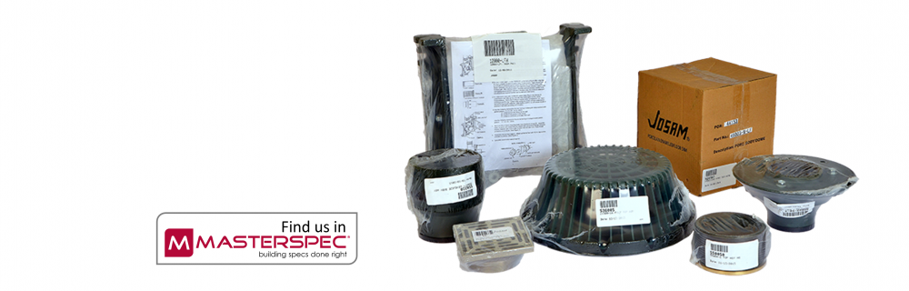 Josam Products Shrink Wrapped and Pre-Packaged