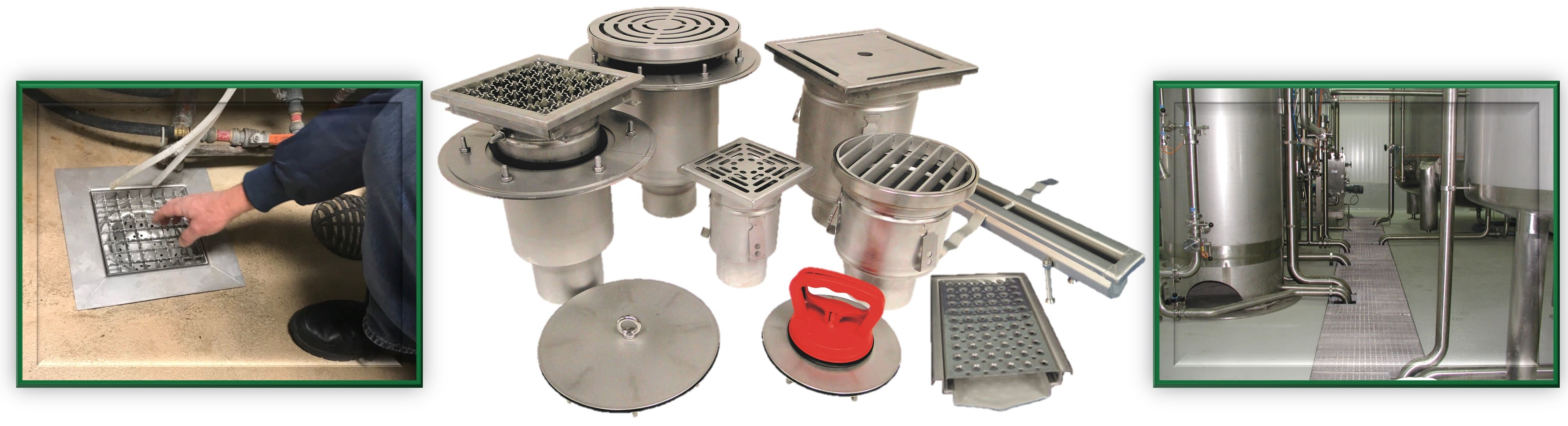 Stainless Steel Drains