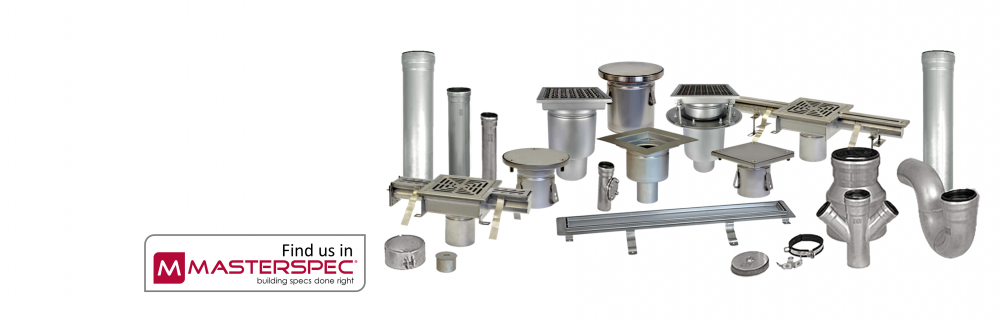 Stainless Steel Drains & Push-Fit Pipe Systems