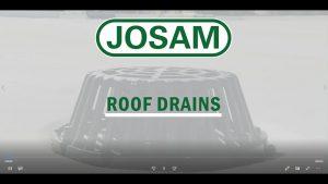 Josam Roof Drain Installation Video